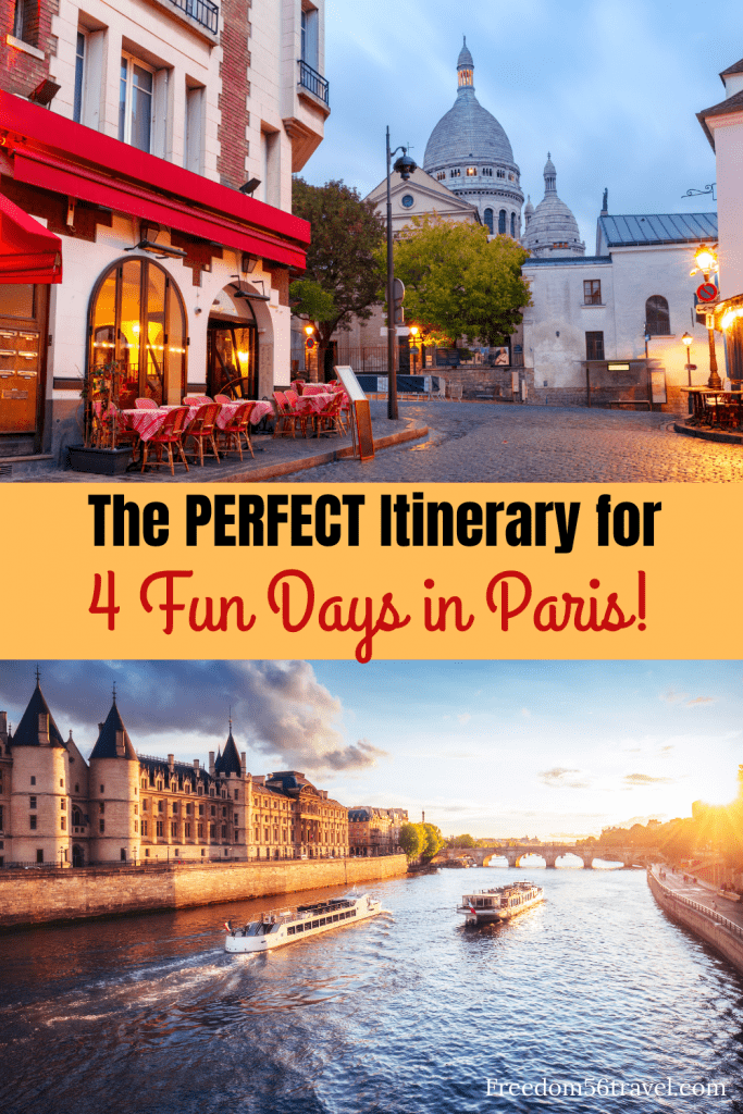 You need this perfect Paris Spring Itinerary! Whether it's your first time or 21st time, these things to do in Spring in Paris will make your vacation in Paris the perfect time! #4days #paris #outfits #itinerary #thingstodo #spring