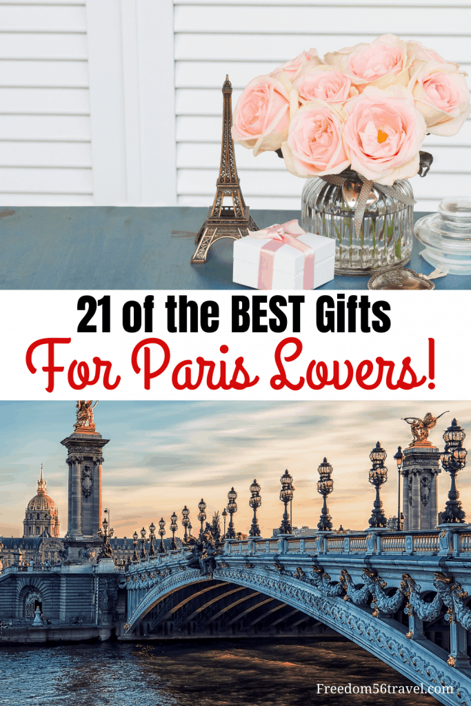 Pinterest image for Paris Themed gifts