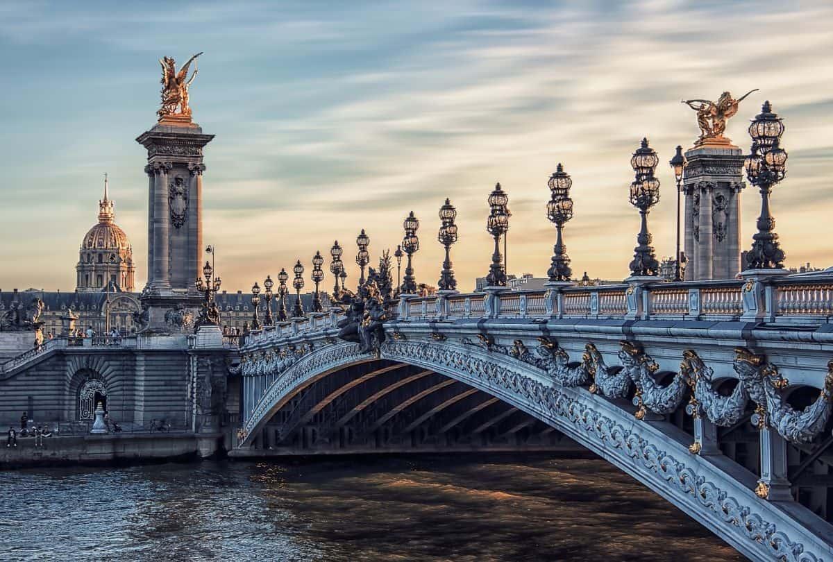 Alexandre III Bridge in Paris