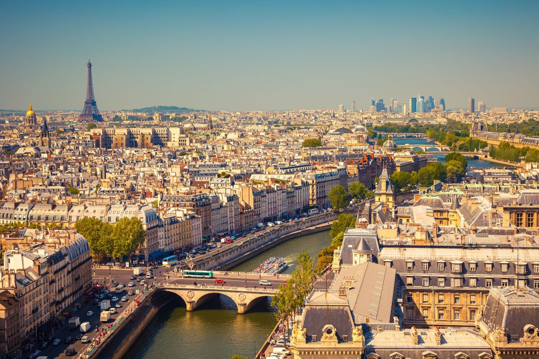 Overview of Paris, easy to see in 1 day in Paris