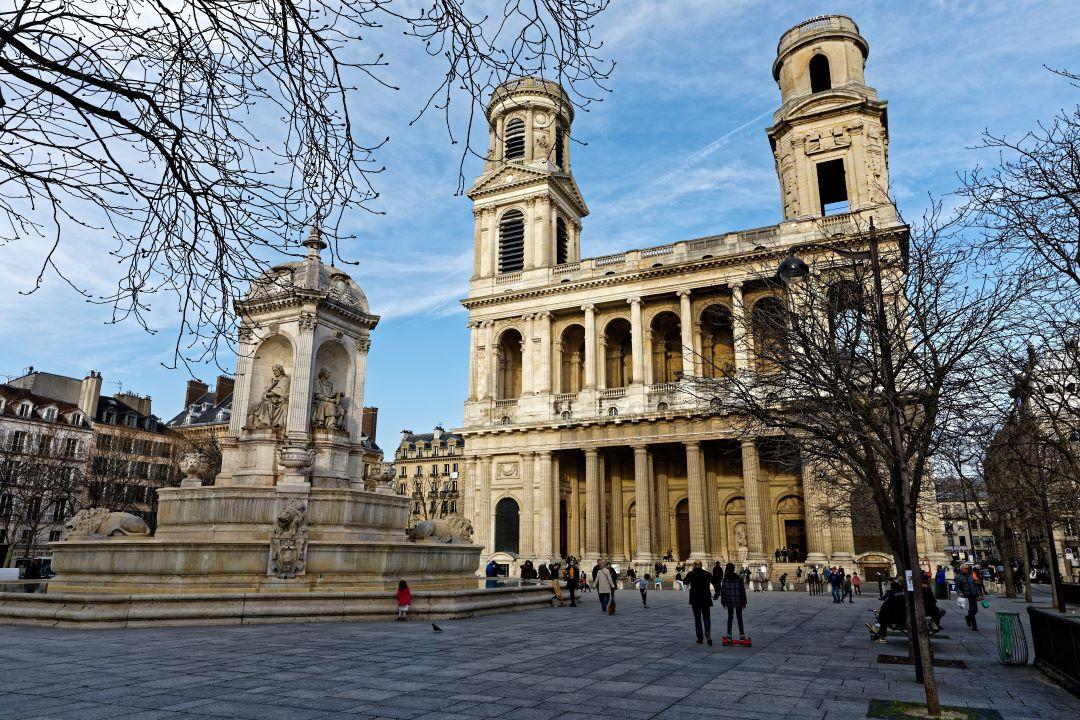 Church of Saint-Sulpice in Paris