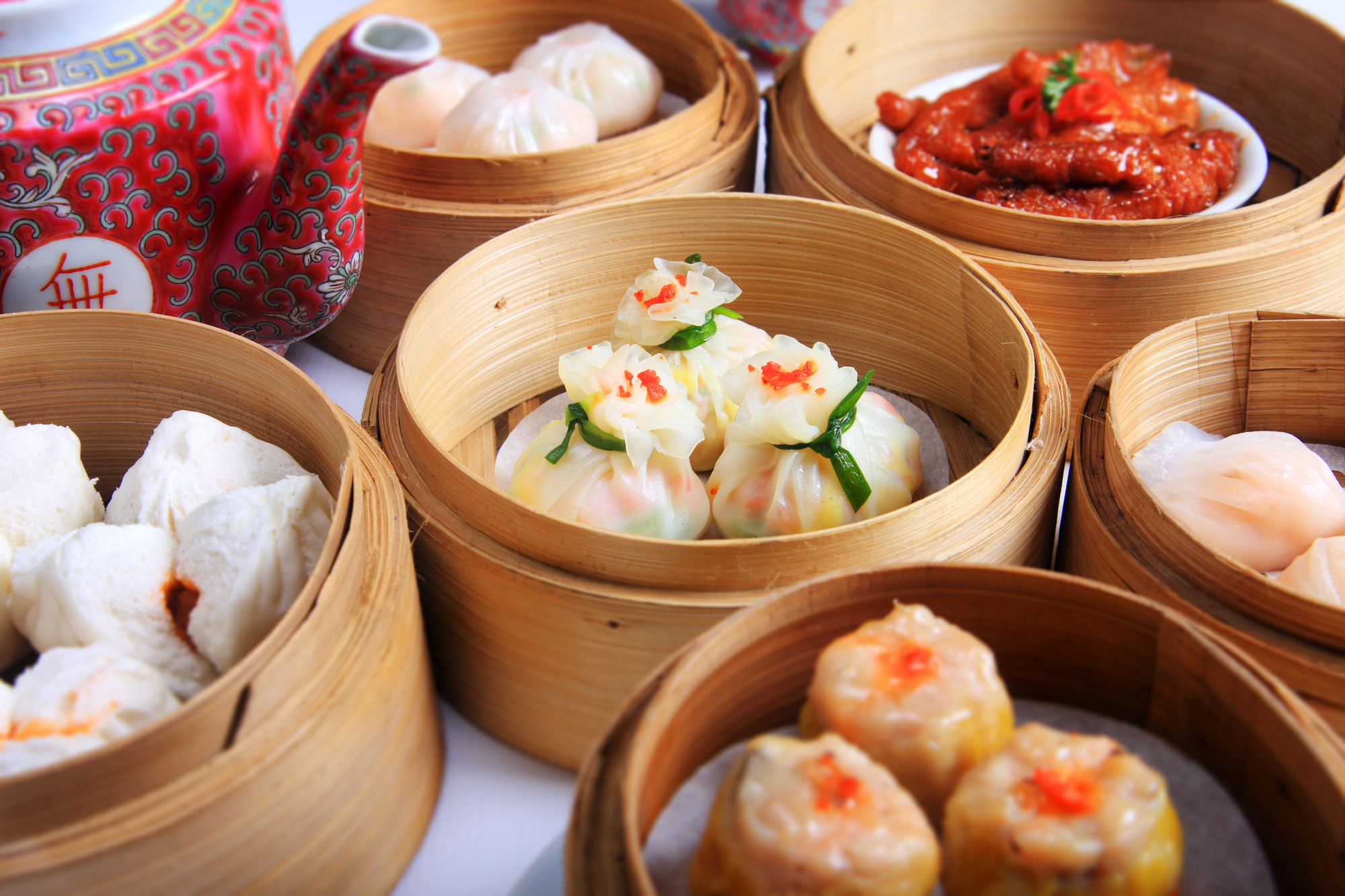 Dim Sum - part of the delicious food to be had