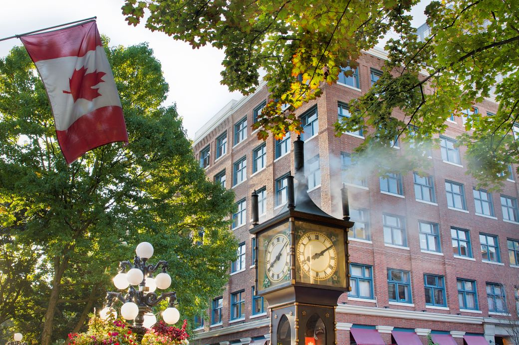 Gastown Steamclock in Vancouver - an essential part of Vancouver in 2 days