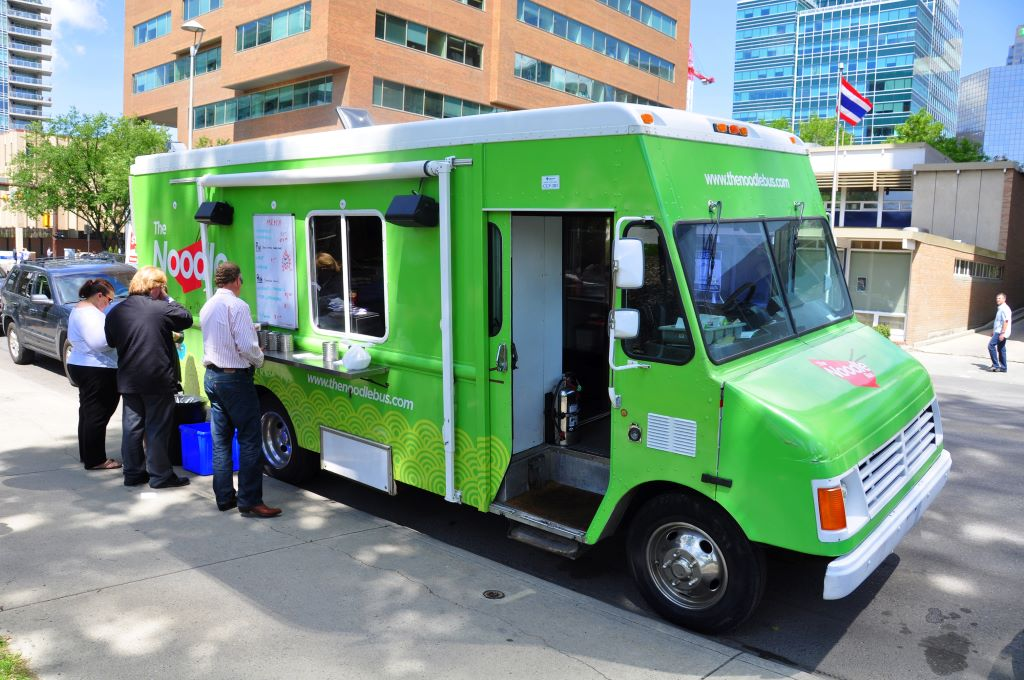 Vancouver Food Truck - a great part of 48 hours in Vancouver BC
