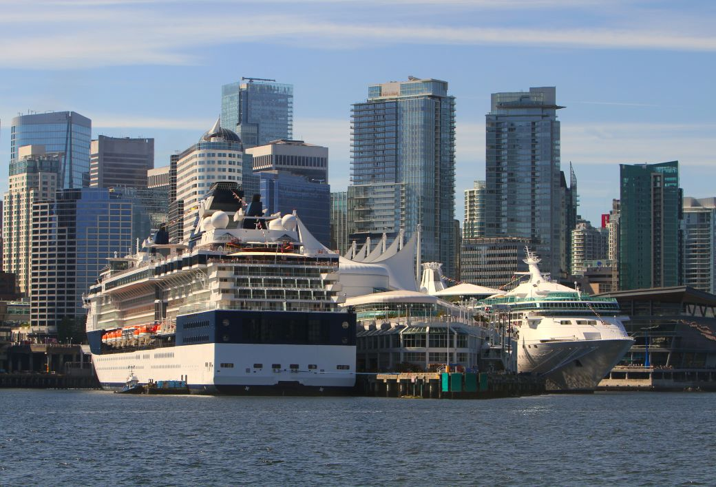 Vancouver Cruise Terminal and Canada Place