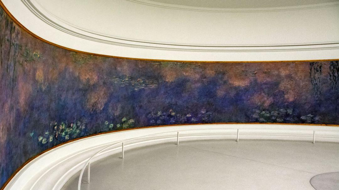 Monet's Water Lilies in the Orangerie Paris