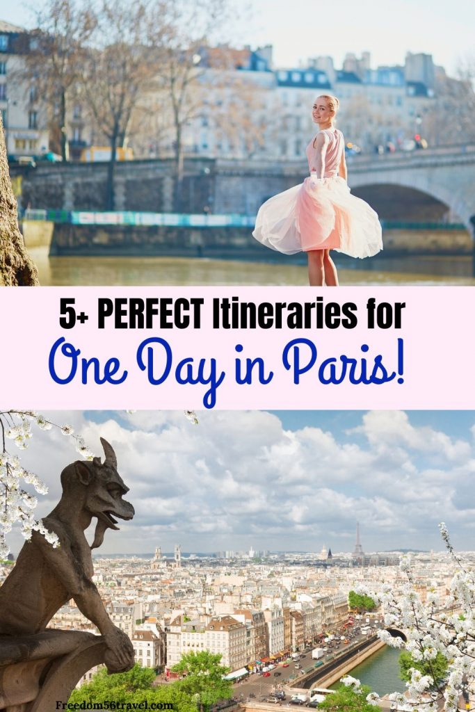 Pinterest image for One Day in Paris